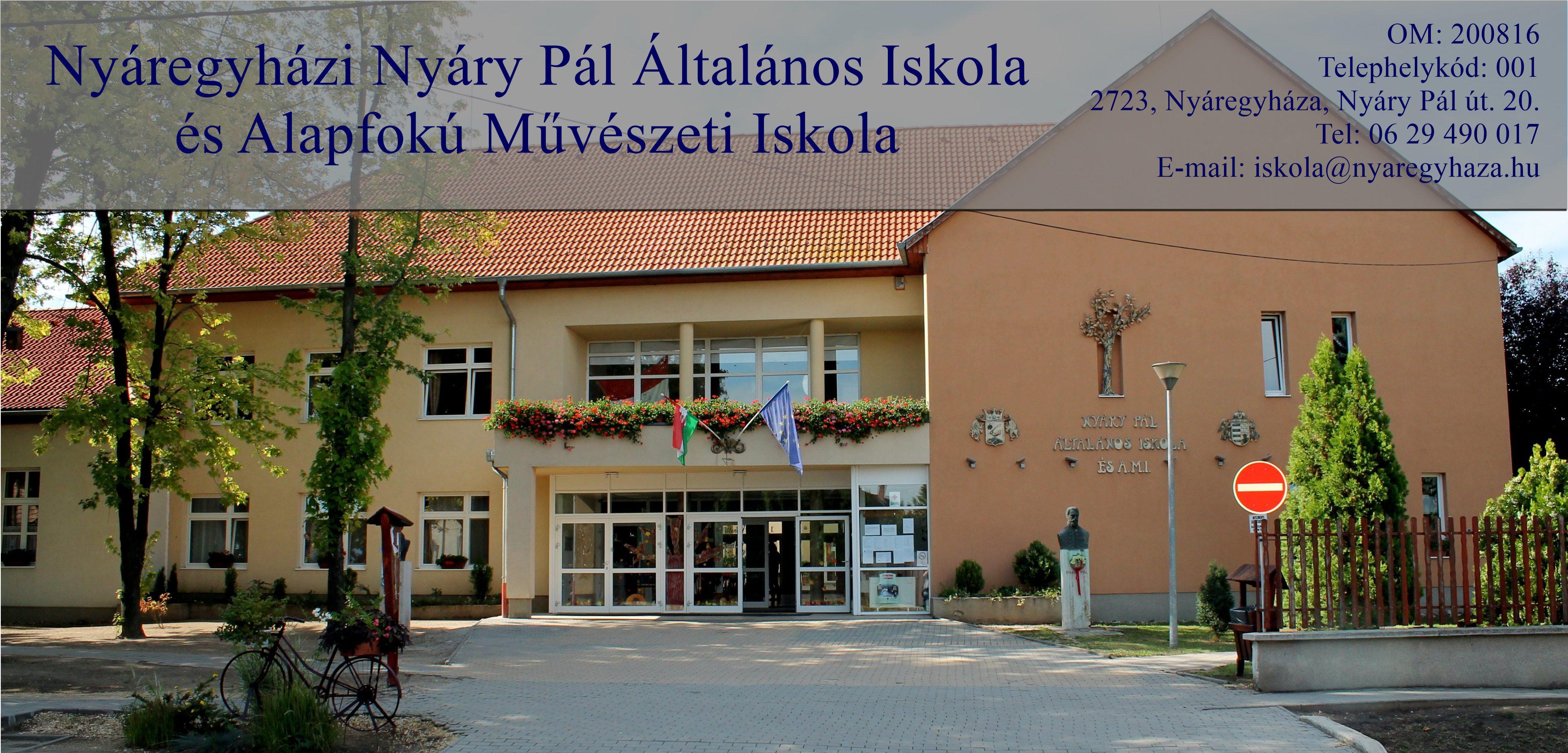 Nyáregyházi Nyáry Pál Általános Iskola és Alapfokú Művészeti Iskola